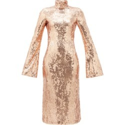Galvan - Robe midi dos nu à sequins Orb found on Bargain Bro India from matchesfashion.com fr for $1592.50