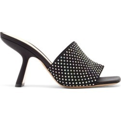 Nicholas Kirkwood - Mules en daim à ornements cristaux Alba found on MODAPINS from matchesfashion.com fr for USD $903.50