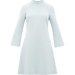 Goat - Juno Wool-crepe Dress - Womens - Light Blue found on MODAPINS from Matches Global for USD $437.00