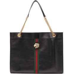 Gucci - Cabas en cuir à bandes Web Rajah found on Bargain Bro Philippines from matchesfashion.com fr for $2574.00