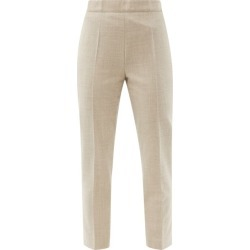 Raey - Slim-leg Wool-blend Tailored Trousers - Womens - Beige found on Bargain Bro India from MATCHESFASHION.COM - AU for $520.67