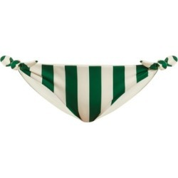 Solid & Striped - The Jane Striped Bikini Briefs - Womens - Green Stripe found on Bargain Bro Philippines from Matches Global for $40.00