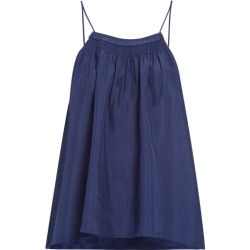 Anaak - Scarlette Silk Cami Top - Womens - Navy found on MODAPINS from MATCHESFASHION.COM - AU for USD $78.46