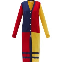 Marni - Colour-block Knitted Longline Cardigan - Womens - Multi found on Bargain Bro UK from Matches UK