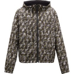 Fendi - Ff Camouflage-print Hooded Windbreaker Jacket - Mens - Green Multi found on Bargain Bro India from Matches Global for $1980.00