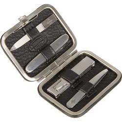 Leather mini manicure set
