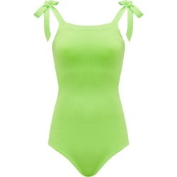 Joostricot - Lina Shoulder-tie Knitted Bodysuit - Womens - Green found on Bargain Bro India from Matches Global for $130.00