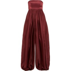 Kalita - Strapless Cotton-blend Jumpsuit - Womens - Purple found on MODAPINS from Matches UK for USD $301.35
