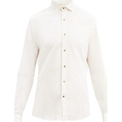 Brunello Cucinelli - Spread Collar Cotton Shirt - Mens - Cream found on Bargain Bro UK from Matches UK