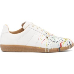 Maison Margiela - Baskets basses effet éclaboussures Replica found on Bargain Bro India from matchesfashion.com fr for $624.00