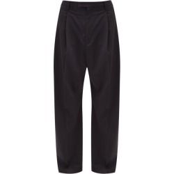 Barena Venezia - Braghier Wide-leg Wool-blend Trousers - Mens - Black found on MODAPINS from MATCHESFASHION.COM - AU for USD $300.51