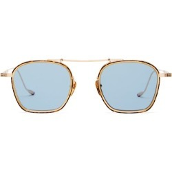 Jacques Marie Mage - Baudelaire Top-bar Titanium Sunglasses - Mens - Blue found on MODAPINS from Matches Global for USD $985.00
