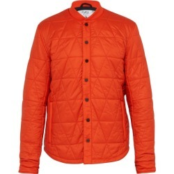 Aztech Mountain - Corkscrew Quilted Jacket - Mens - Orange found on MODAPINS from MATCHESFASHION.COM - AU for USD $368.92
