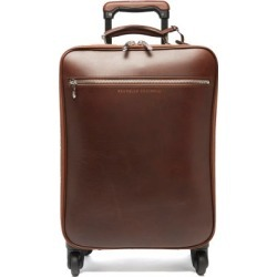 Brunello Cucinelli - Grained-leather Carry-on Suitcase - Mens - Brown found on Bargain Bro UK from Matches UK
