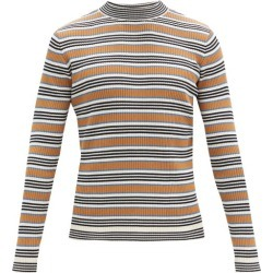 Marni - Striped Rib-knitted Cotton-blend Sweater - Mens - Blue Multi found on Bargain Bro from Matches UK for £453
