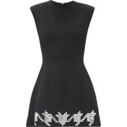 David Koma - Crystal-embellished Wool-blend Tweed Mini Dress - Womens - Black found on MODAPINS from Matches Global for USD $1695.00