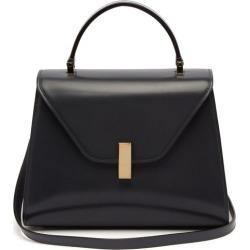 Valextra - Iside Medium Leather Bag - Womens - Dark Grey found on Bargain Bro from MATCHESFASHION.COM - AU for USD $2,642.73
