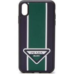 Prada - Logo-stripe Iphone® Xs Max Rubber Phone Case - Mens - Green found on Bargain Bro UK from Matches UK