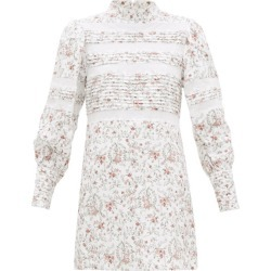 Sir - Haisley High-neck Mesh-panel Mini Dress - Womens - Ivory Multi found on Bargain Bro Philippines from MATCHESFASHION.COM - AU for $359.53