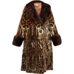 Gucci - Leopard-print Faux-fur Coat - Womens - Leopard