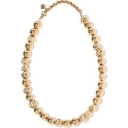 Chloé - Anouck Textured-bead Necklace - Womens - Gold found on Bargain Bro UK from Matches UK