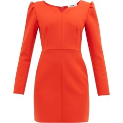 MSGM - Sweetheart-neckline Cady Mini Dress - Womens - Red found on Bargain Bro UK from Matches UK