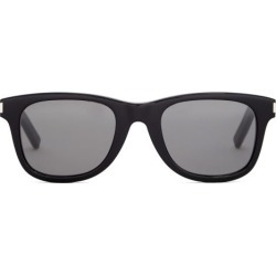 Saint Laurent - Logo-engraved Square Acetate Sunglasses - Mens - Black found on Bargain Bro from Matches Global for USD $300.20