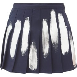 Germanier - Mini-jupe plissée peinte à la main found on Bargain Bro India from matchesfashion.com fr for $292.50
