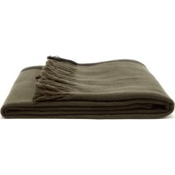 Denis Colomb - Tibet Fringed Cashmere Blanket - Khaki found on MODAPINS from MATCHESFASHION.COM - AU for USD $2410.88