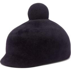Lola Hats - Toy Soldier Felt Hat - Womens - Navy