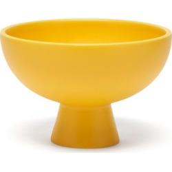 Raawii - Strøm Medium Ceramic Bowl - Yellow found on Bargain Bro UK from Matches UK