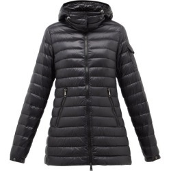 Moncler - Menthe Quilted-down Hooded Jacket - Womens - Black found on Bargain Bro India from Matches Global for $1395.00