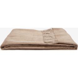 Brunello Cucinelli - Two-tone Tasselled Silk Blanket - Beige found on Bargain Bro UK from Matches UK