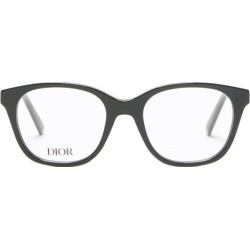 Dior - 30montaigneminio Round Acetate Glasses - Womens - Black found on Bargain Bro UK from Matches UK