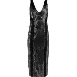 Galvan - Hero Sequinned Dress - Womens - Silver Multi found on MODAPINS from MATCHESFASHION.COM - AU for USD $351.56