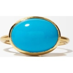 Irene Neuwirth - Turquoise & 18kt Gold Ring - Womens - Blue found on MODAPINS from Matches Global for USD $3430.00