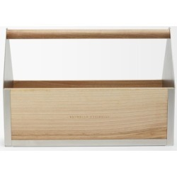 Brunello Cucinelli - Walnut Wood And Stainless-steel Gardening Toolbox - Multi found on Bargain Bro UK from Matches UK