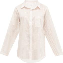 Pour Les Femmes - Chemise de nuit en voile de coton à imprimé étoile