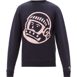 Billionaire Boys Club - Astro Embroidered Cotton-jersey Sweatshirt - Mens - Navy found on MODAPINS from Matches UK for USD $279.44