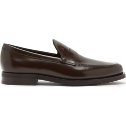 Tod's - Mocassins en cuir à logo embossé found on Bargain Bro Philippines from matchesfashion.com fr for $611.00