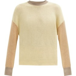 Marni - Colour-block Cashmere Sweater - Womens - Beige Multi found on Bargain Bro UK from Matches UK