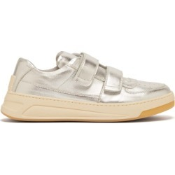 Acne Studios - Baskets basses en cuir Perey found on Bargain Bro Philippines from matchesfashion.com fr for $208.00