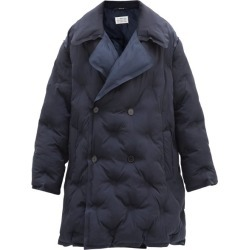Maison Margiela - Double-breasted Quilted Shell Coat - Womens - Navy found on Bargain Bro UK from Matches UK