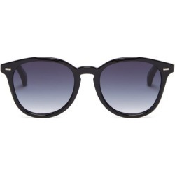 Le Specs - Bandwagon Round Sunglasses - Womens - Black found on Bargain Bro UK from Matches UK