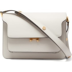 Marni - Trunk Medium Smooth-leather Shoulder Bag - Womens - Light Grey found on Bargain Bro from Matches UK for £1398