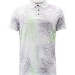 Kjus - Spot Isometric-print Jersey Polo Shirt - Mens - White found on MODAPINS from Matches UK for USD $138.18