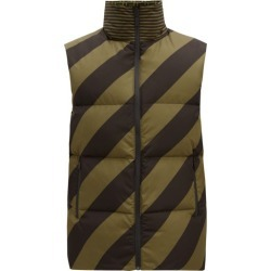 Fendi - Reversible Logo-print Down Gilet - Mens - Brown Multi found on Bargain Bro Philippines from Matches Global for $1490.00
