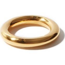 Jil Sander - Gold-plated Sterling-silver Ring - Womens - Gold found on Bargain Bro UK from Matches UK