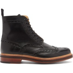 Grenson - Bottes richelieu en cuir Fred found on Bargain Bro Philippines from matchesfashion.com fr for $434.20