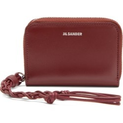 Jil Sander - Braided-strap Leather Wallet - Womens - Burgundy found on Bargain Bro UK from Matches UK